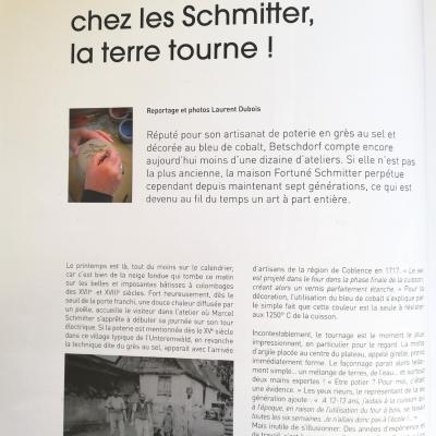 Article Origine Alsace, avec Maurice Schmitter et non Marcel